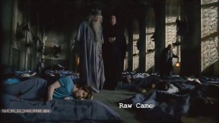 :邓布利多和斯内普联手整蛊哈利波特Daniel Radcliffe,在拍摄现场跟