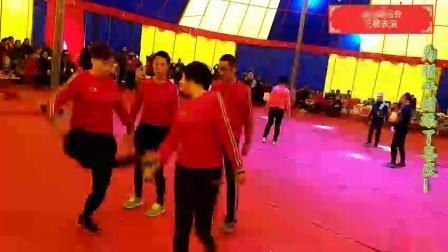 邹城花毽《济宁太白湖庙会花毽表演2019.2.9》