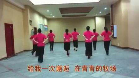 广场舞教学-套马杆16步 含背面分解[gtps]