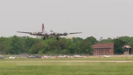 二战名机B-17孟菲斯美女号,现在还能飞