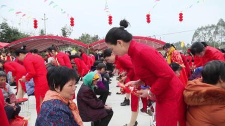 2019春节 广西贵港市港北区中里乡六村外嫁女回家活动