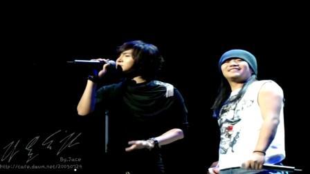 【饭拍】2009复活演唱会 朴完奎&郑东河《千年之爱》