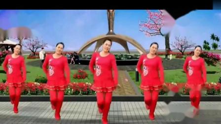 《妈妈的吻dj》 简单广场舞教学 广场舞视频