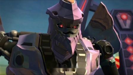 武战道:黑甲兽向金爪神汇报在回来的路上遇到火雷霆