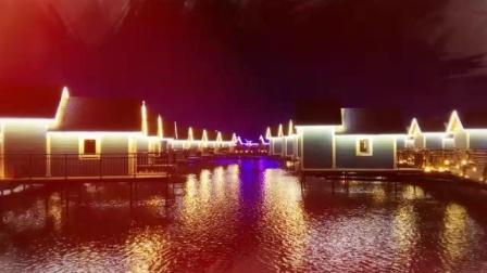 中国的马尔代夫唐山月坨岛夜景