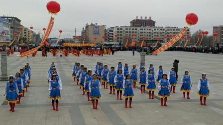 2019年,扎赉特旗正月十五元宵节,秧歌,广场舞,安代舞比赛汇演! 巴彦扎拉嘎乡,广场舞第三名。
