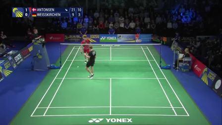 2019.02.17 决赛 丹麦 vs 德国 - 2019欧洲羽毛球混合团体锦标赛