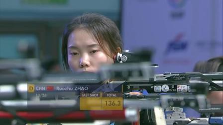 ISSF国际射联新德里世界杯-女子10米气步枪决赛