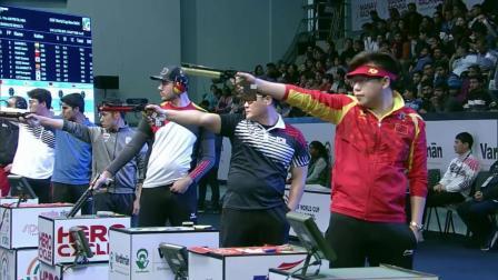 ISSF新德里世界杯-男子10米气手枪