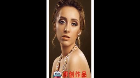 西安哪些美发化妆美容短期培训学校镇正规?金栗栗红强学校最新原创发型化妆作品
