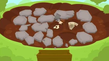 侏罗纪公园 挖掘恐龙化石 安迪的恐龙冒险 游戏