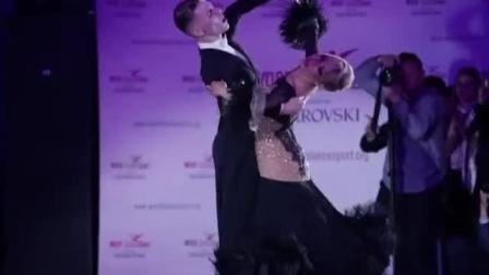 超美的摩登舞华尔兹表演 迪马2018莫斯科