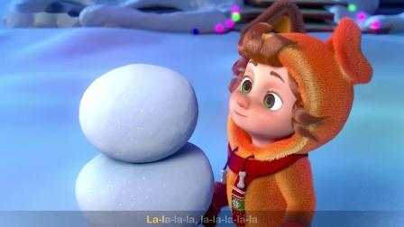 【原版儿童英语歌谣】巴巴黑绵羊- 圣诞节日歌 Baa Baa Black Sheep - Christmas songs🤩生动可爱的3D高清动画有故事游戏歌曲