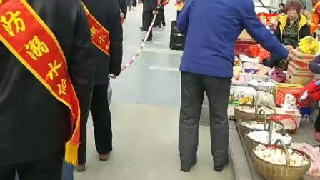 卢氏城关镇防溺水协会3月5日学习雷锋纪念日洛北大渠放置救生圈和救命竹竿大型公益活动