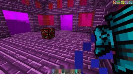 我的世界虚无世界219:巨型水晶挺值钱,我挖了几组宝石才换来