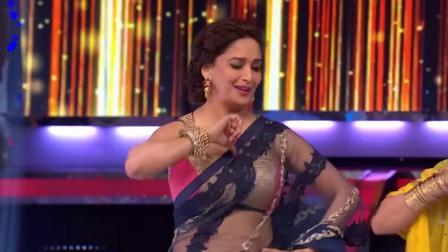 Madhuri Dixit 现场重温 印度电影 恶棍 的经典歌舞