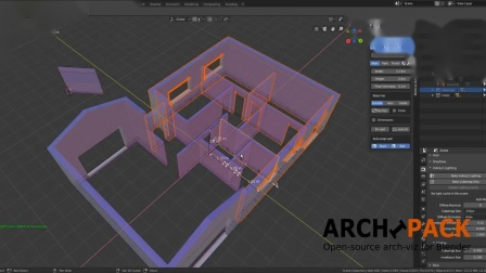 Archipack 2.2 demo