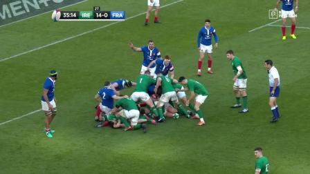 2019年六国赛第4轮 爱尔兰vs法国