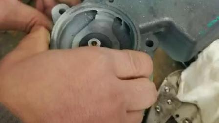 自吸泵水封安装