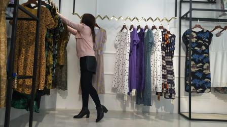 中淑大码女装【西子恋】夏装 98%连衣裙 高性价比中青大码女装批发