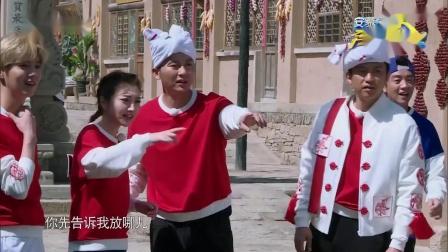 """热血热巴上线!跑太急鞋子掉了,王嘉尔给""""肉巴""""姐加油"""