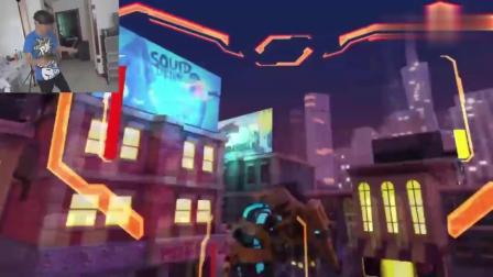 鲤鱼解说:VR机甲战争模拟器,大黄蜂和钢铁侠机甲?
