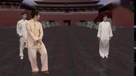 24式太极拳招式分解教学16-17