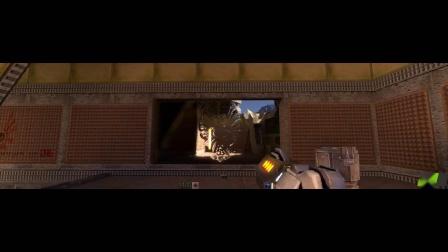 Quake II RTX - GTC 2019 Demo Walkthrough with NVIDIA CEO Jensen Huang