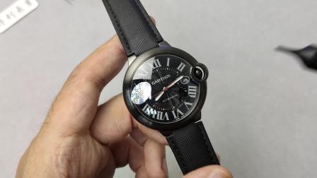 【老表新谈】V6蓝气球黑骑士 卡地亚蓝气球42mm黑色男士手表