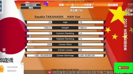 2019.03.24 决赛 中国 3-2 日本 - 2019年亚洲羽毛球混合团体锦标赛