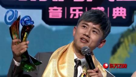 风云榜最佳男歌手:张杰,音乐启航这才是实力悍将 第26届东方风云榜音乐盛典 20190325