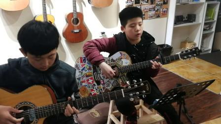 少年锦时 弹唱 小学生