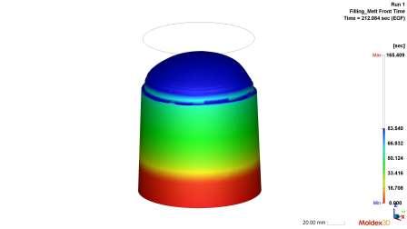 Moldex3D R17 - PU化学发泡分析考量发泡倍率