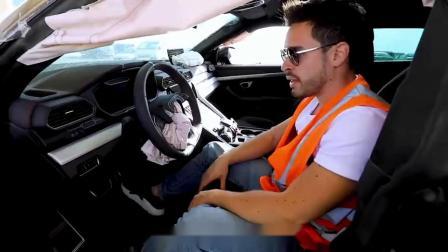 小伙在迪拜废车场买了一辆兰博基尼,打开引擎盖后,彻底被震撼了!