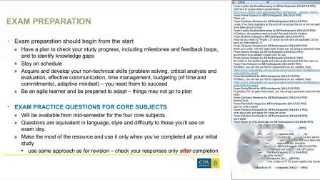 澳洲注册会计师课程 | 考试技巧在线研讨会(2019年第一学期)