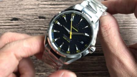 VS欧米茄海马150系列007限量版腕表