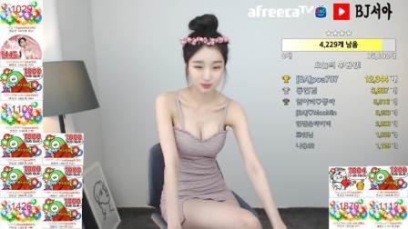 韩国女主播徐雅 AfreecaTV直播视频2019.4.2