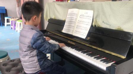 巴赫钢琴初级曲集《9、进行曲》