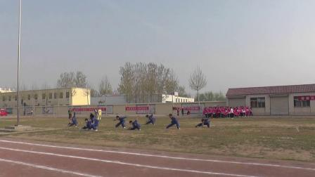 金乡县文峰中学2019春季运动会武术表演