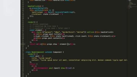 【ReactJS 教程】5 条件渲染和循环渲染