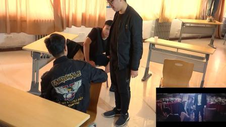 新乡学院18广2B1《中国合伙人》片段模仿