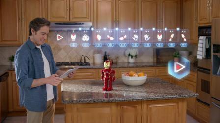 优必选&漫威首款联名钢铁侠MARK50机器人——终极集结,燃战宇宙!