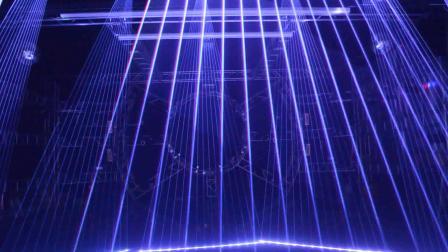 18台全彩RGB摇头激光灯