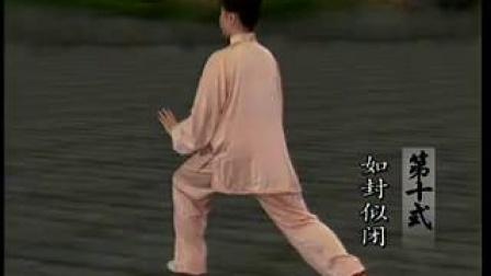 9-10式太极拳分解教学_标清