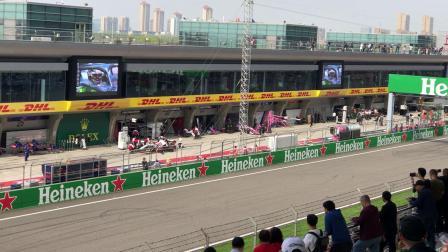 2019 F1 中国站 排位赛 进站