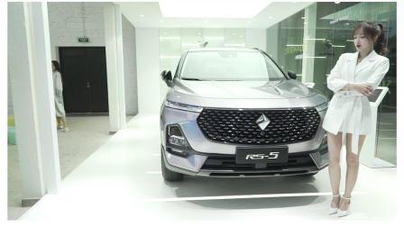 全新款SUV首揭神秘面纱  新宝骏RS-5上海亮相吸睛