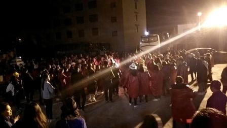 云南香格里拉藏族  藏民土司宴 篝火表演2019.04.14.