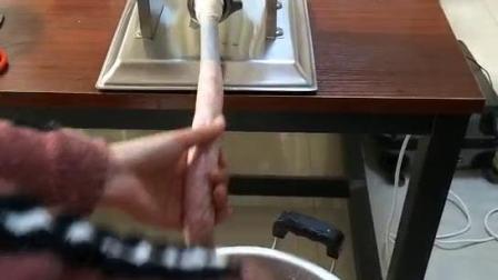 哈瑞斯立式商用灌肠机手动齿轮灌香肠机不锈钢腊肠不用电节能