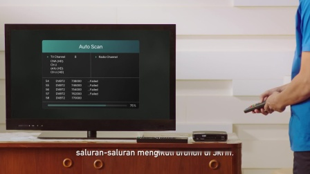 How to install DTV equipment (Malay)