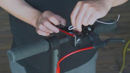 米粉君小米滑板车中控面板硅胶保护套安装视频